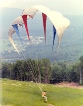 first paraglider
